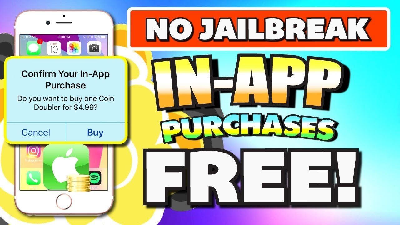 Get In-App Purchases for FREE (NO JAILBREAK) iOS 10 - 10 3 1