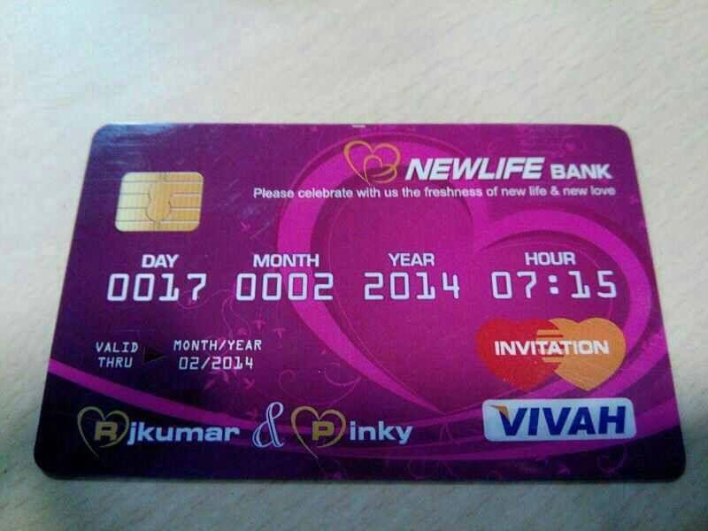 Credit Card Invite