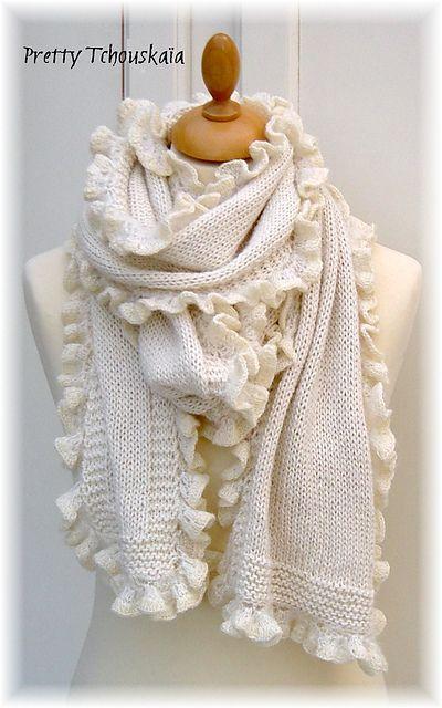 Simplement blanche, ou noire - 2 patrons by Pretty Tchouskaïa - €4.00 EUR