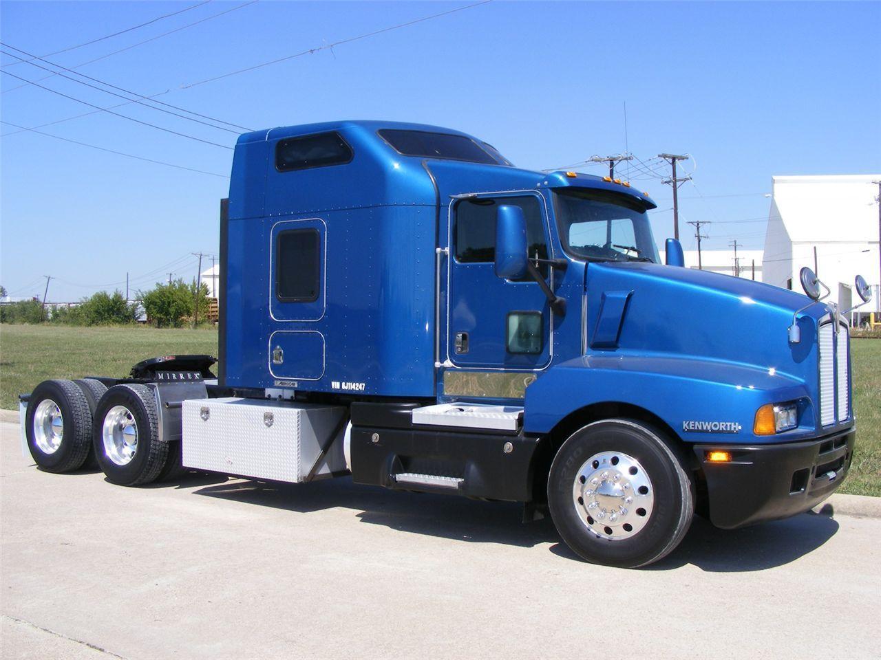 Kenworth t600 semi trucksbig