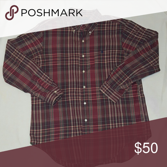 Shirt Classic fit, long sleeves with button barrel cuffs, split back home with box pleat ensures comfortable fit and a greater range of motion. New without tags Polo by Ralph Lauren Shirts Casual Button Down Shirts