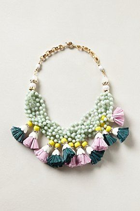 Want: A Unique Necklace That Makes A Serious Spring Statement