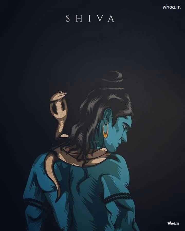 Lord Shiva Blue 3d Image Shiva Warriors Image Angry Pose Lord