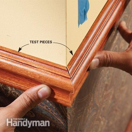 How To Install A Chair Rail Be Our Guest Corner