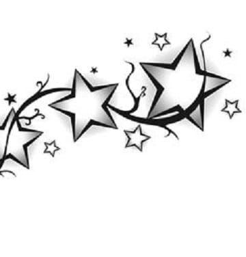Diferentes Plantillas De Tatuajes De Estrellas Tatuajes En El Brazo