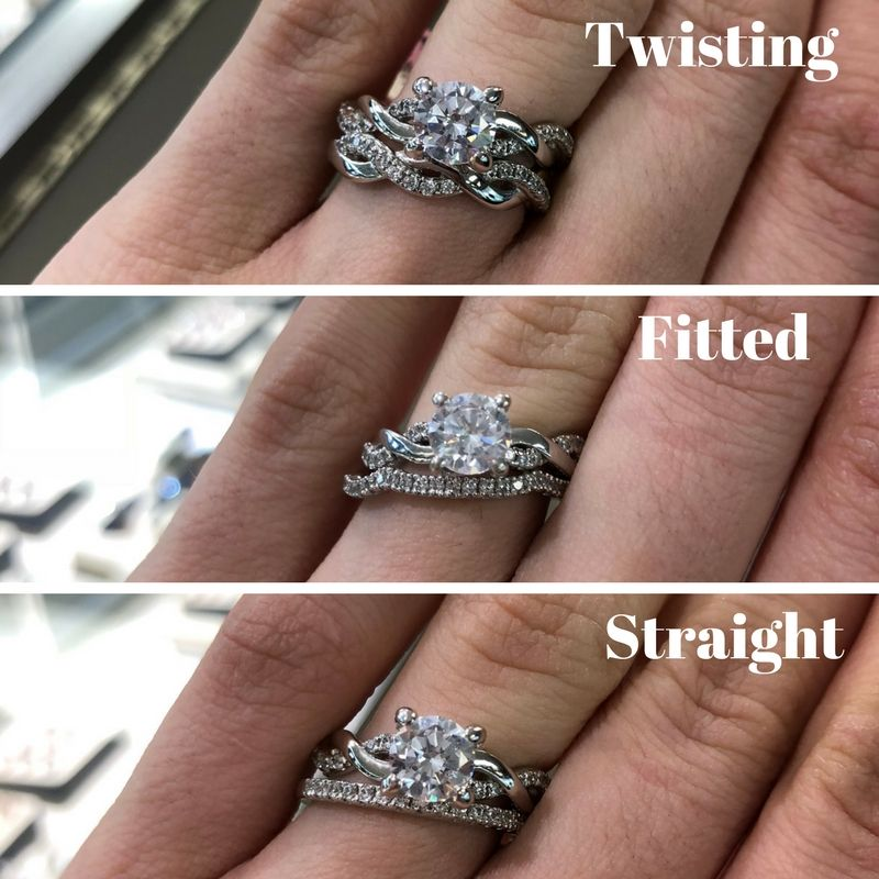 Which Wedding Band Would You Choose To Go With This Twisting Engagement Ring Engagement Rings Twisted Beautiful Engagement Rings Band Engagement Ring
