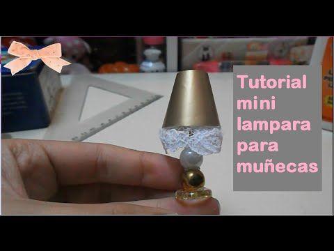 Tutorial Mini Lampara Para Munecas Ddung Monster High Barbie Tutorial Crafts Lamp Cute Doll Mini Lampara Como Hacer Candelabros Como Hacer Una Lampara
