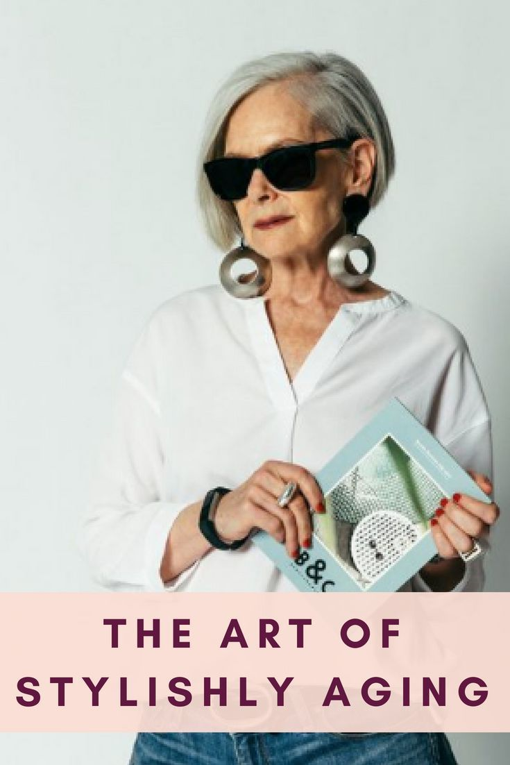 Aging in Style: The Art of Stylishly Aging