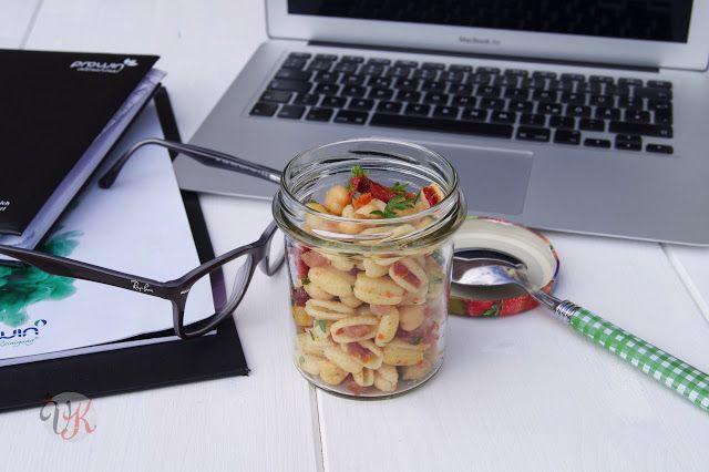 Kichererbsen Salat - auch super zum Mitnehmen von @vierasabova