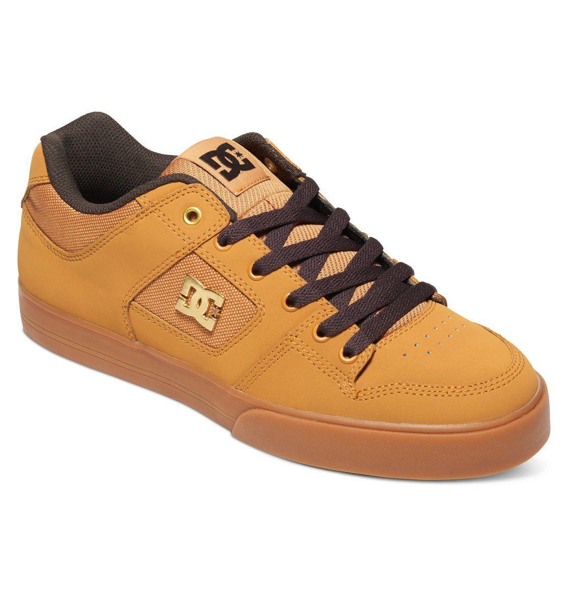 DC Shoes Crisis High WNT, Sneakers Basses Homme, Marron (Wheat/DK Chocolate), 45 EU