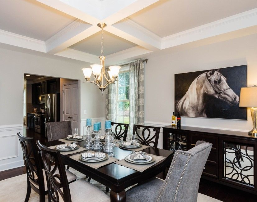 Gorgeous Greensboro North Carolina formal dining room by D R