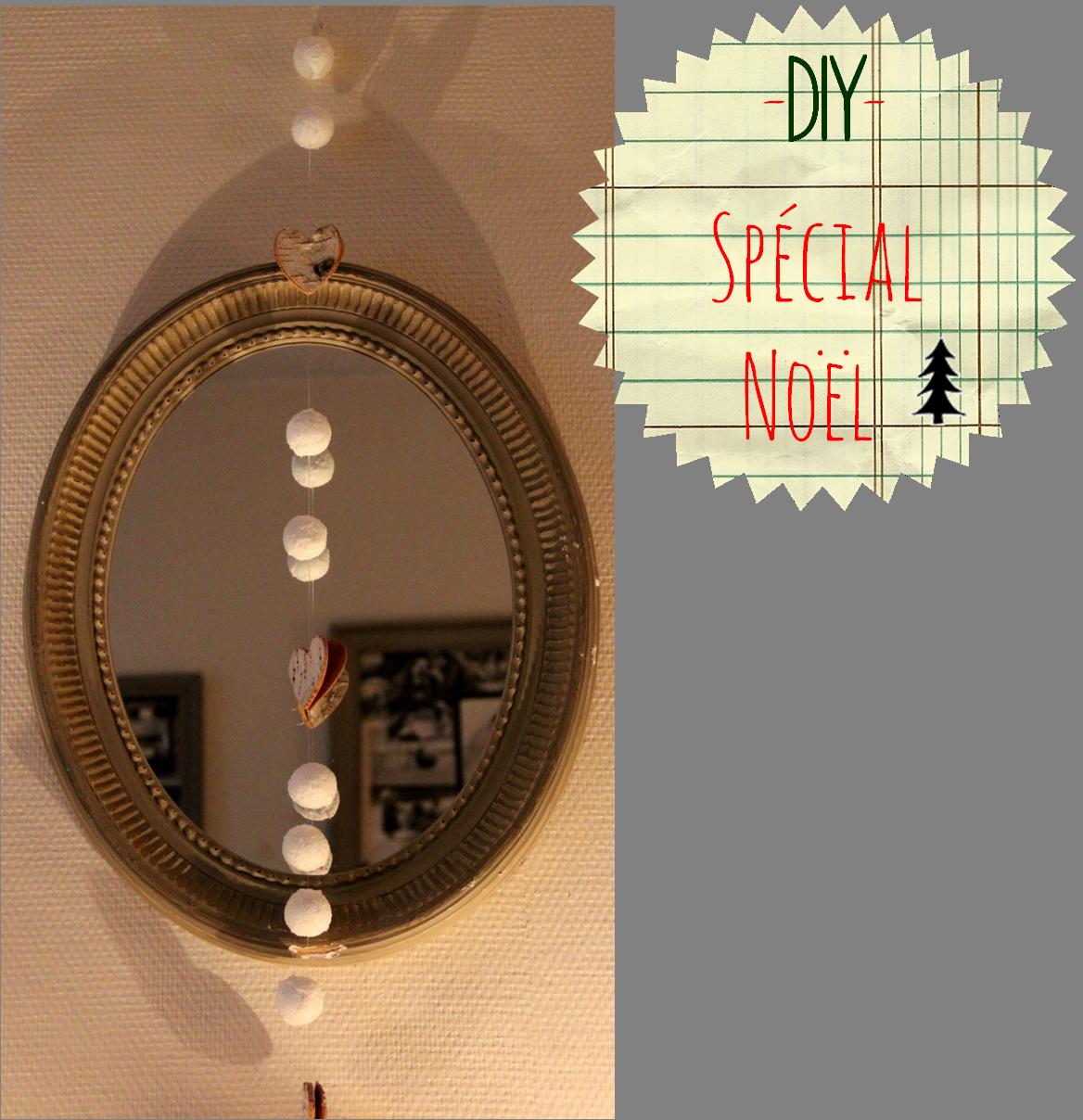 diy une guirlande de noel diy and crafts pinterest. Black Bedroom Furniture Sets. Home Design Ideas