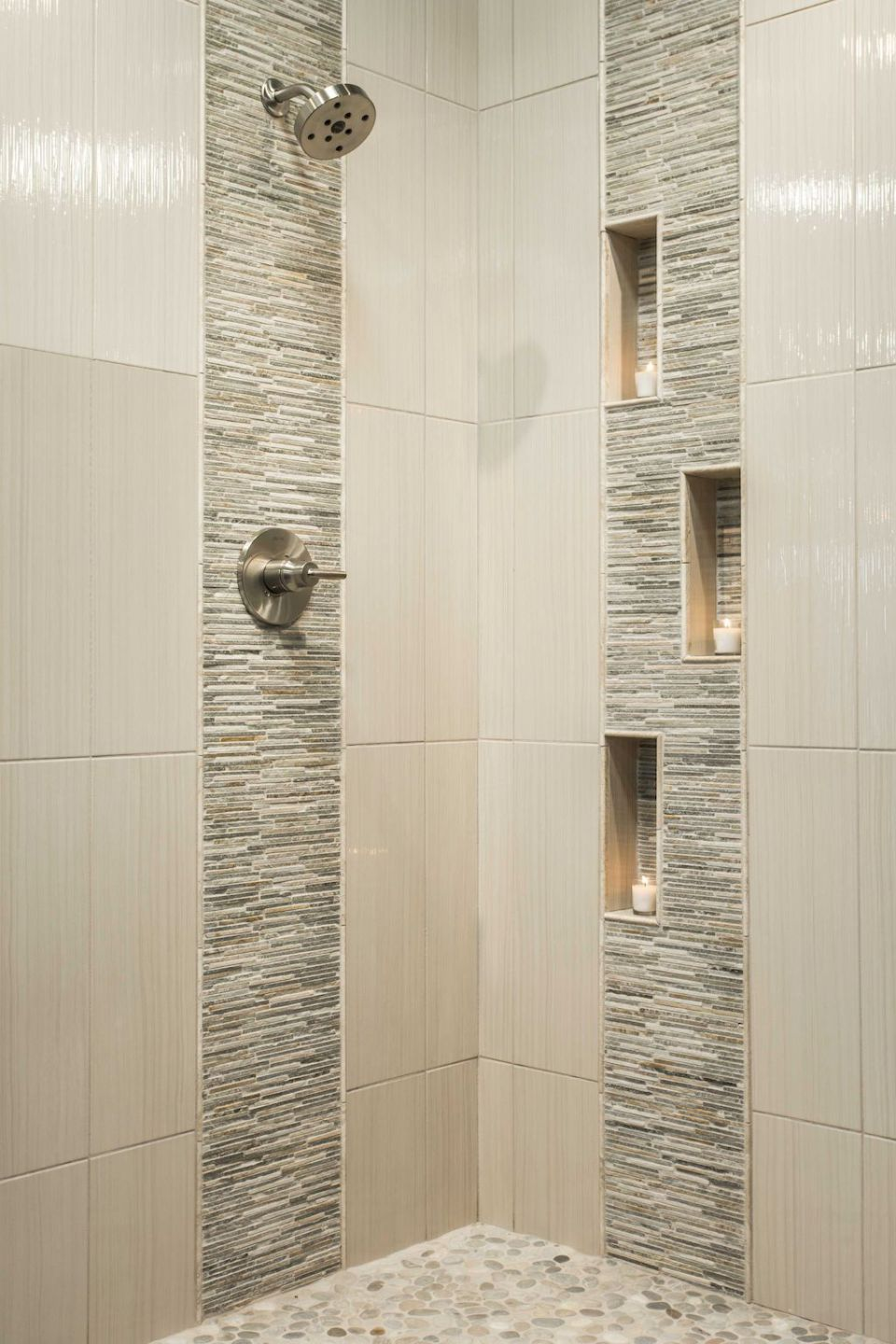 80 Stunning Tile Shower Designs Ideas For Bathroom Remodel 40