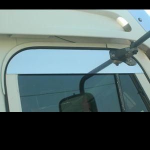 Freightliner Century Chopped Look Top Of Door Trim Freightliner Door Trims Stainless Steel
