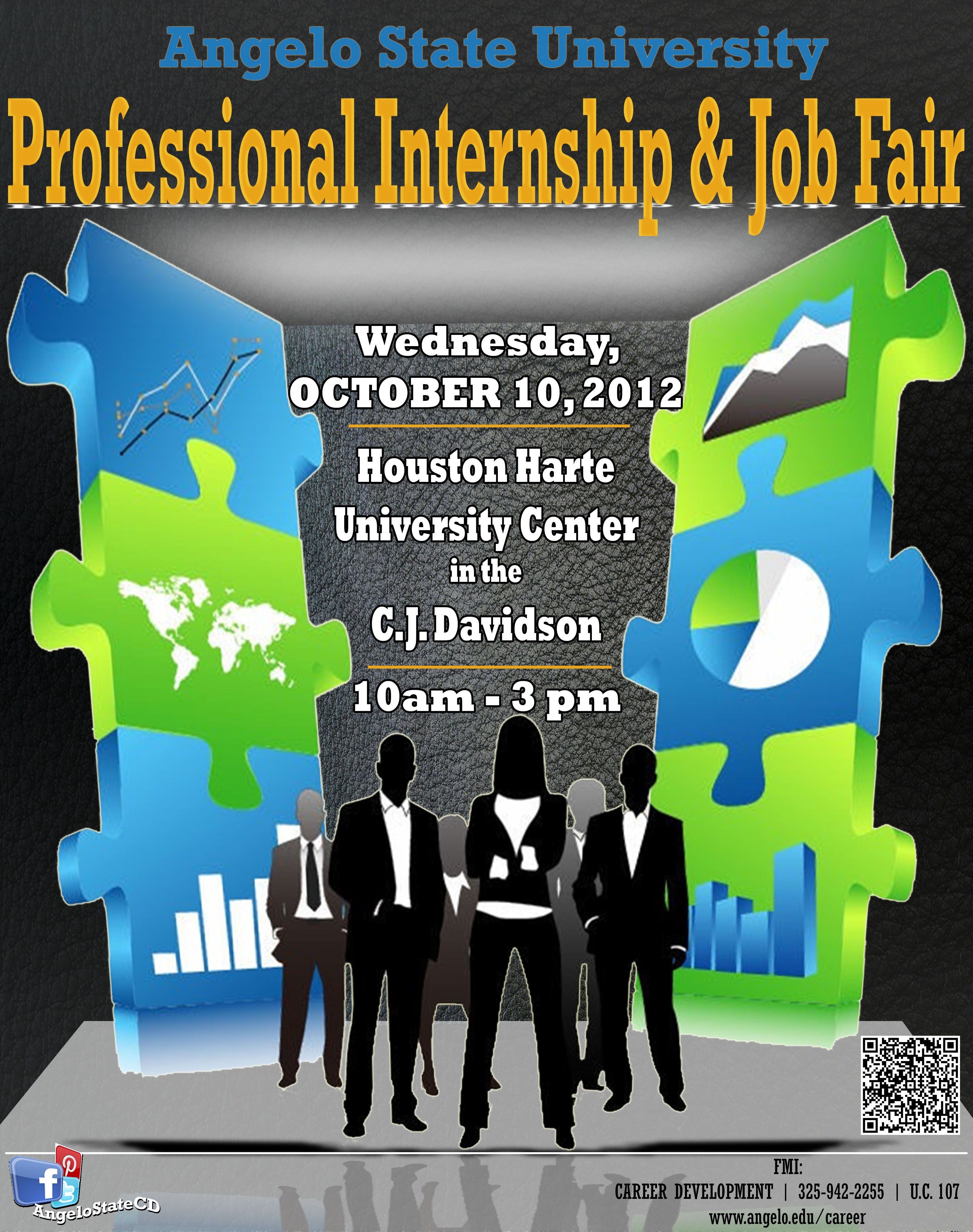 The Professional Internship  Job Fair Is An Excellent Resource
