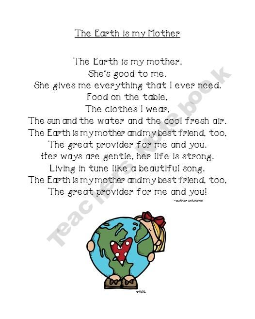 mother earth essay