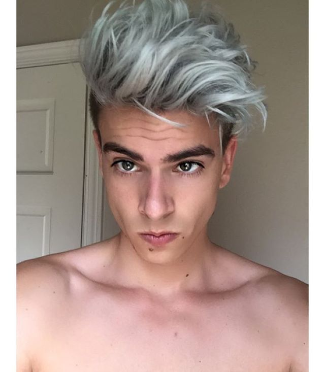 Hairmenstyle Silver Or Snapchat Hairmenstyle Cabelo