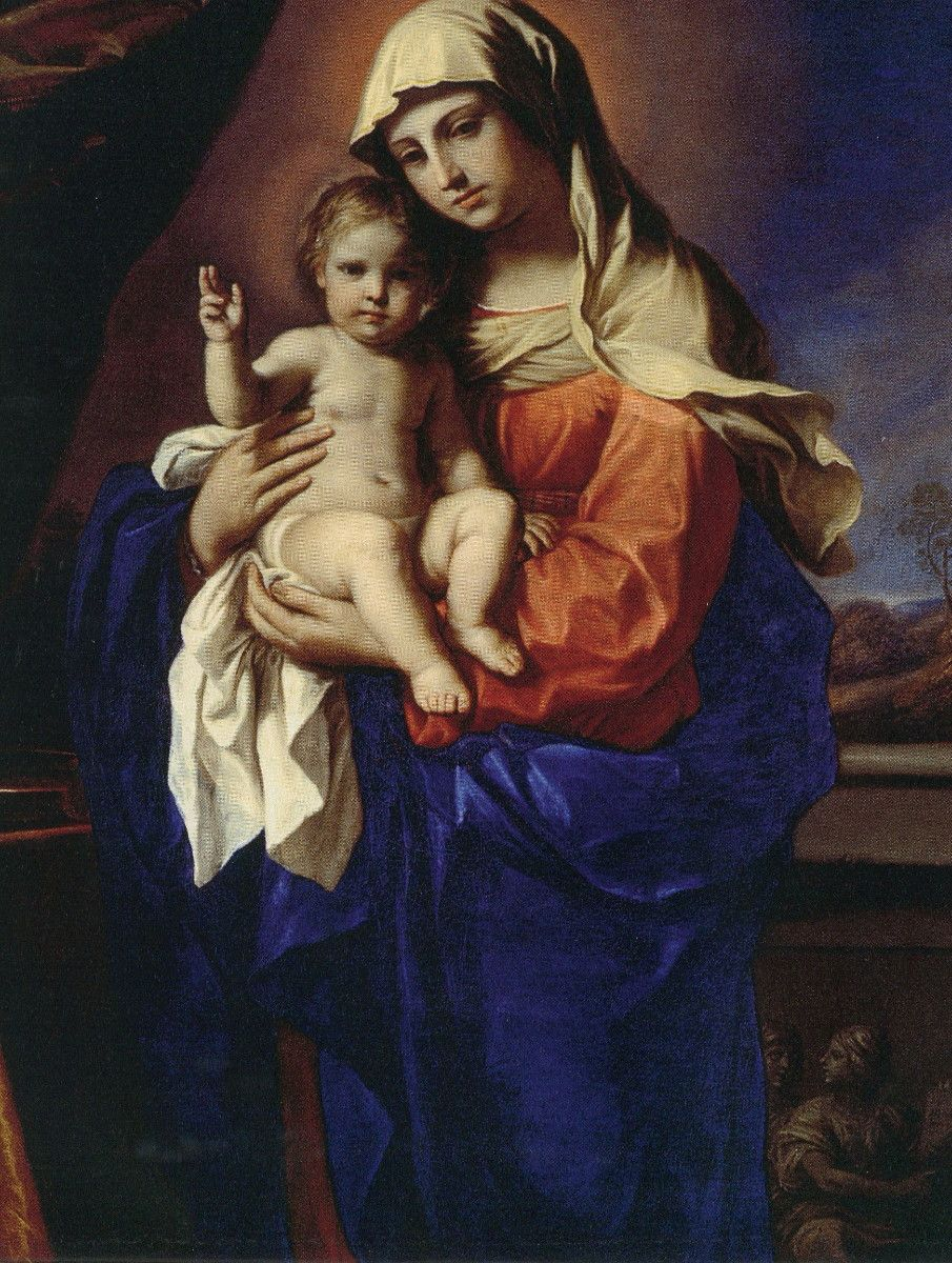 Madonna and Child Giovanni Francesco Guercino