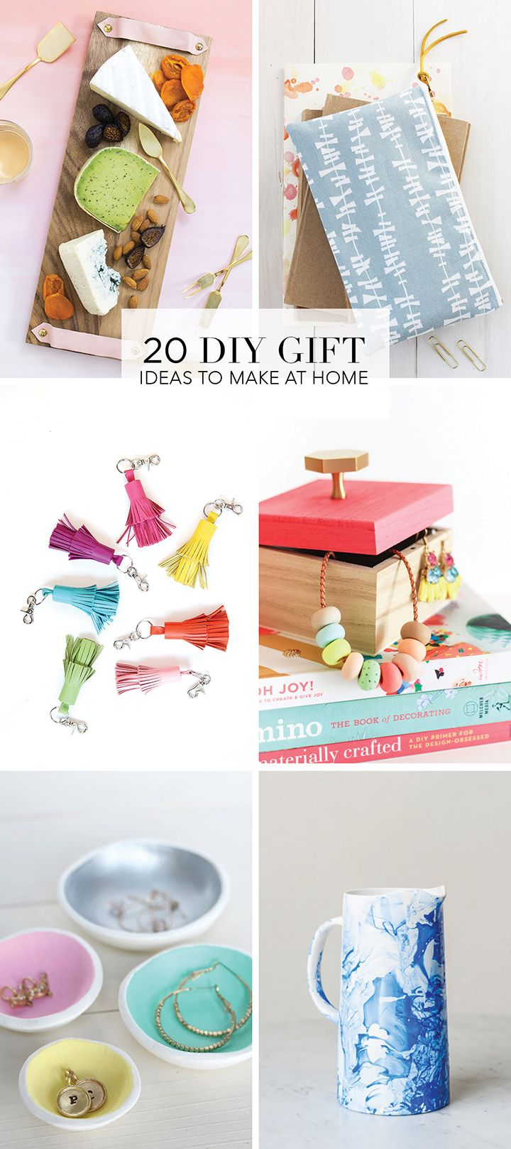 20 DIY Holiday Gift Ideas | Handmade, Gift ideas and At home