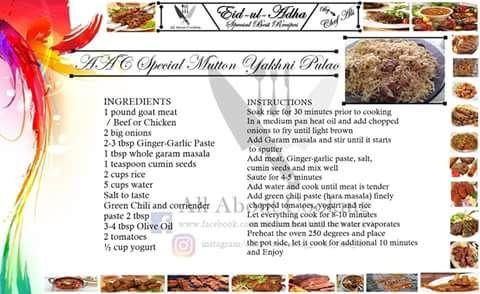 Special mutton yakhni pulao