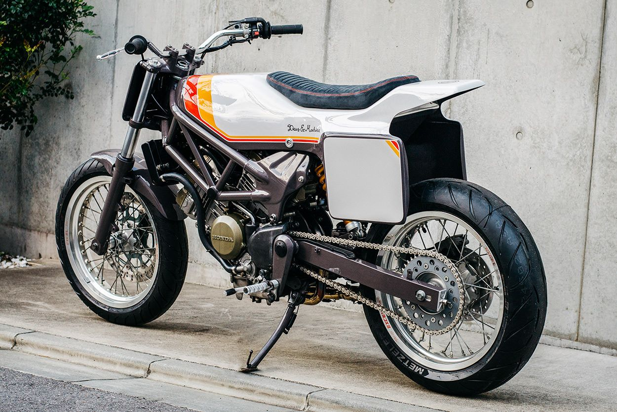 Mini Monster A Pint Sized Street Tracker From Deus Japan