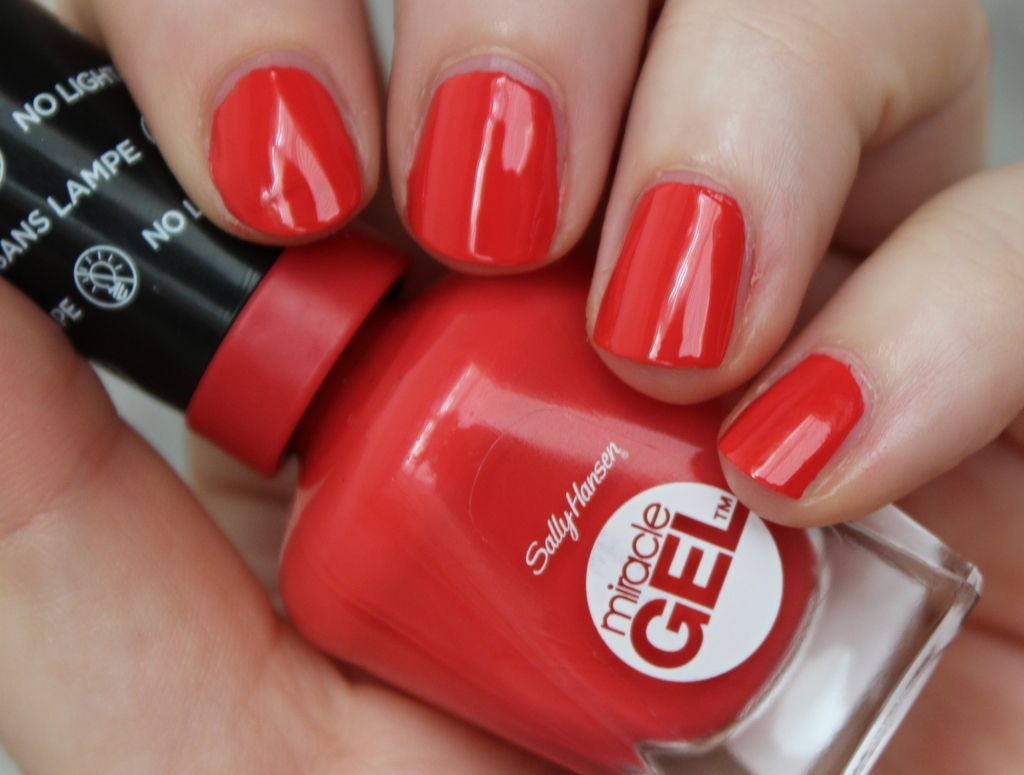 product: sally hansen miracle gel in red eye | Beauty | Pinterest ...