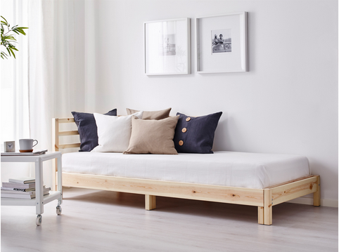 IKEA Tarva daybed Sofa bed design, Day bed frame, Ikea bed