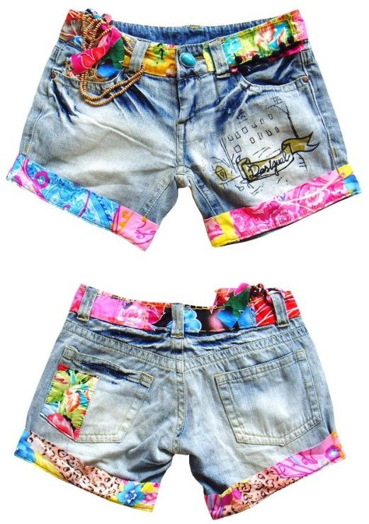 Desigual Denim Shorts/Jeans | Customizar