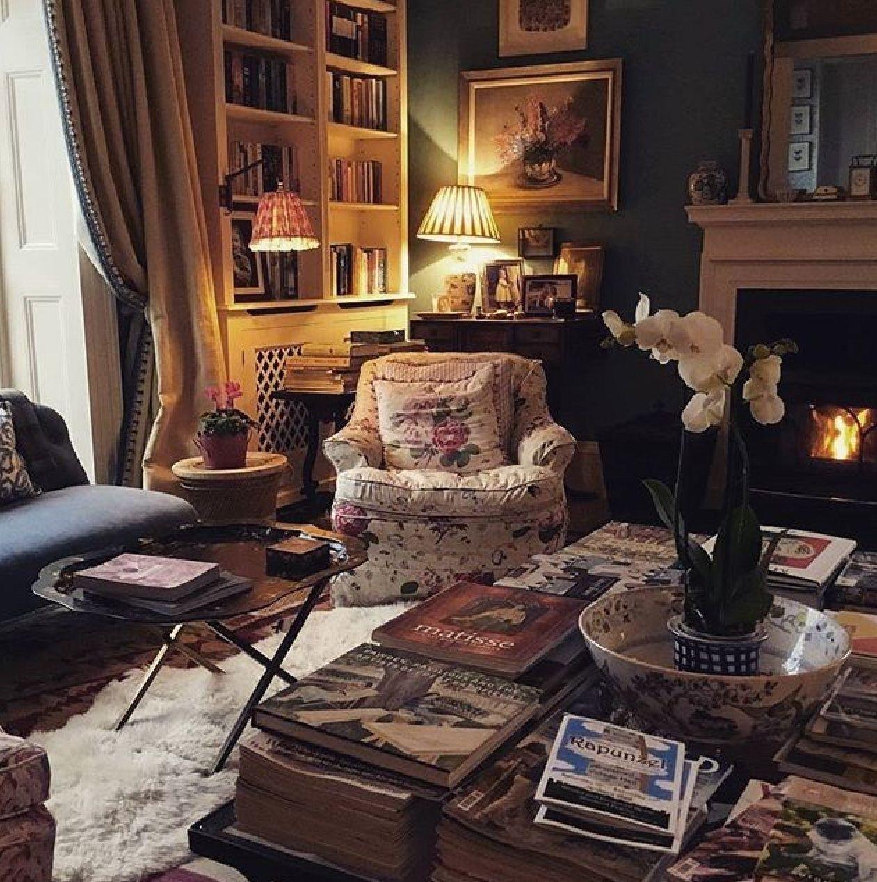 Inspiring English Cottage Decor Ideas 04 | Cottage living ...