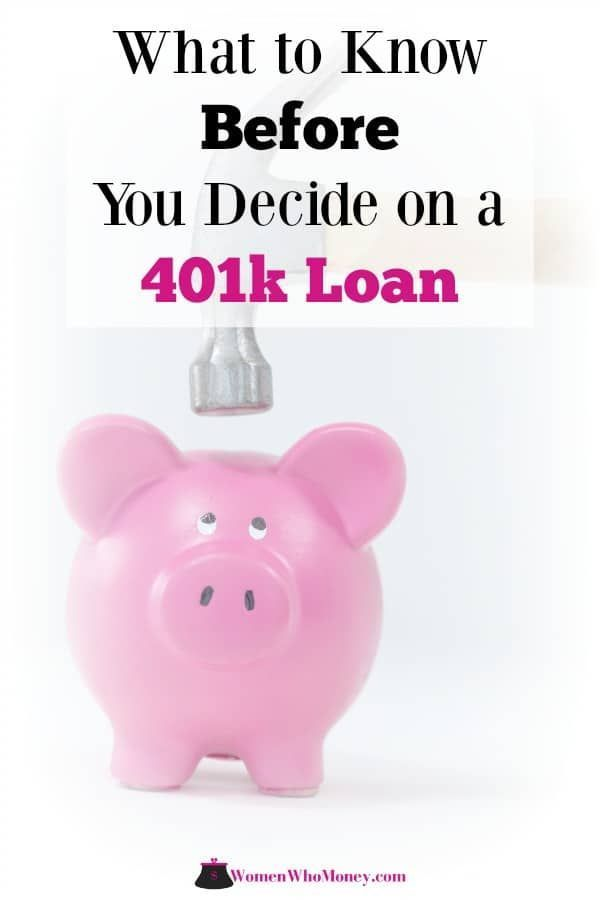 How Do 401 K Loans Work And What Are Their Pros And Cons 401k Loan Loan Money Lessons