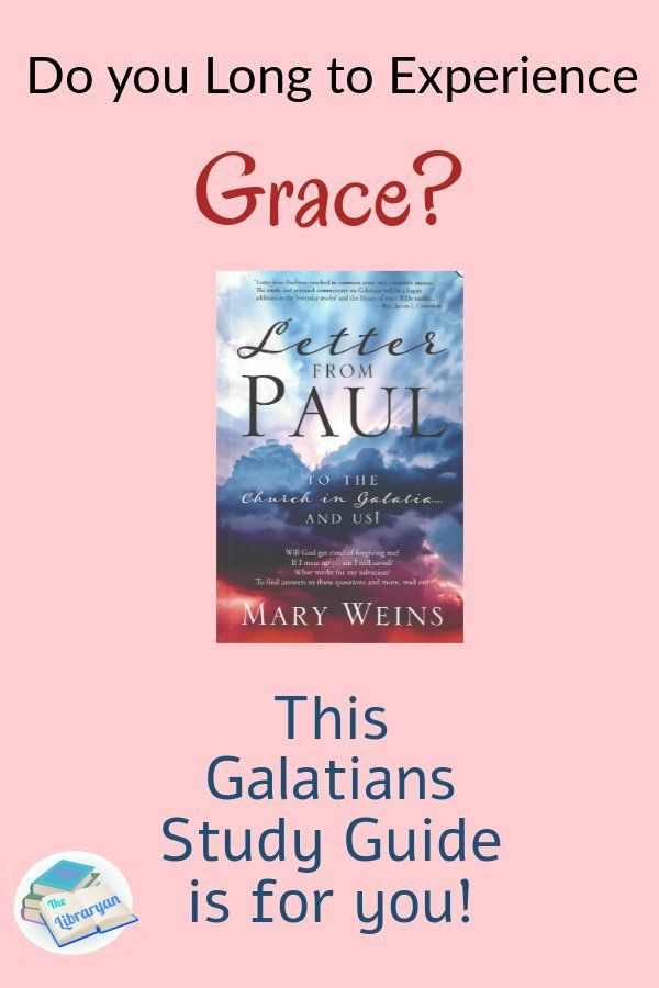 5 Star Galatians Study Guide Letter from Paul in 2020