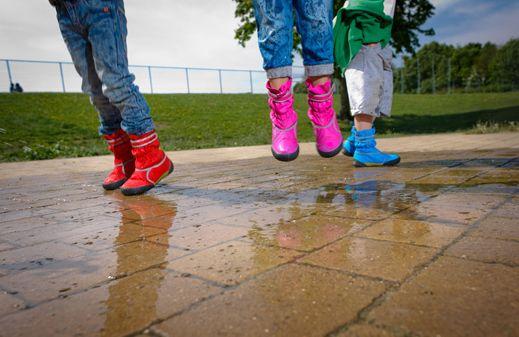 awesome idea for rain boots