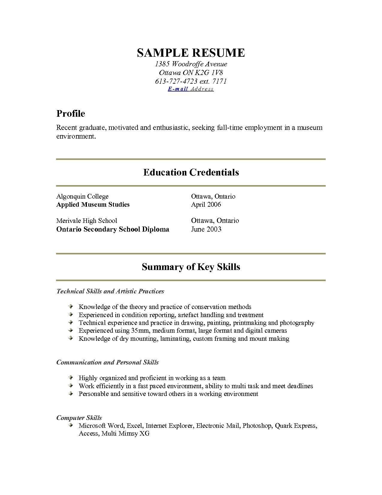 Sample Resume For Freshers Beautiful 32 Resume Templates For