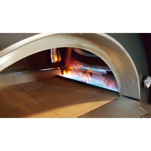 Gas Pizzaofen Pulcinella Von Clementi 60 X 80 Cm Anthrazit Pizza Oven Gas Pizza Oven Woodfired Pizza Oven