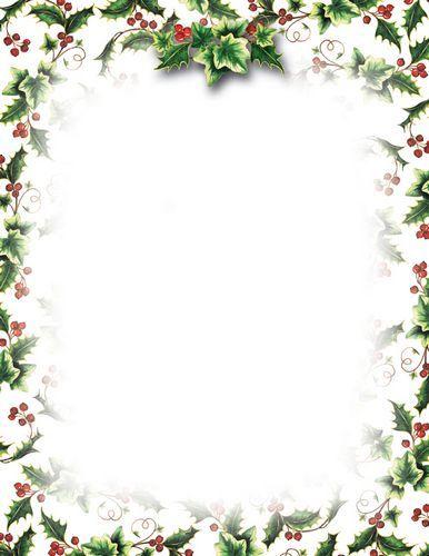 free christmas letterhead templates