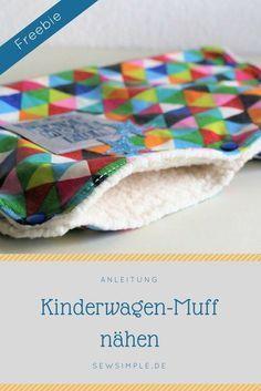 ᐅ Kinderwagen-Muff nähen | Anleitung für einen Handwärmer #sewingprojects