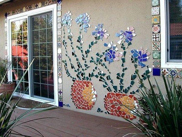 Kreative und Großartige tolle Mosaikideen zu Händen Ihren Grünanlage    Diy-gartenbau, Mosaik diy, Gartenkunst