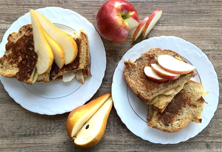 Fruit and Nut Butter French Toast  SWANK NOTE:  Only three whole eggs allowed per week.  Use unlimited amount of egg whites instead.