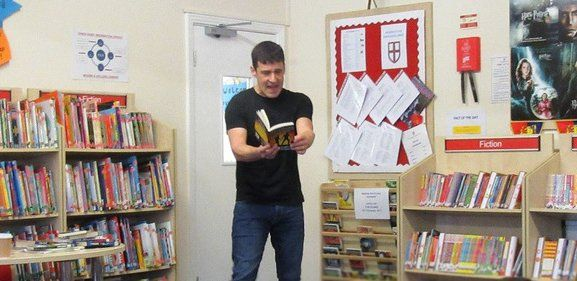 """Our Lady's RC High on Twitter: """"We are looking forward to welcoming @tompalmerauthor to Our Lady's this afternoon. Tom will be meeting our year 7s to talk to them about his… https://t.co/TXIKdHGYNm"""""""