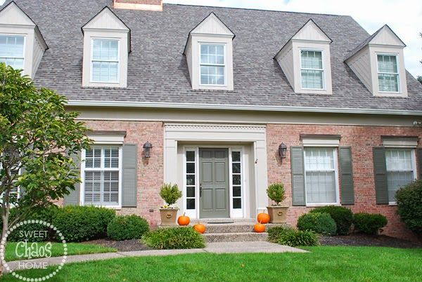 Sweet Chaos Home: Choosing Exterior Paint Colors -- Help
