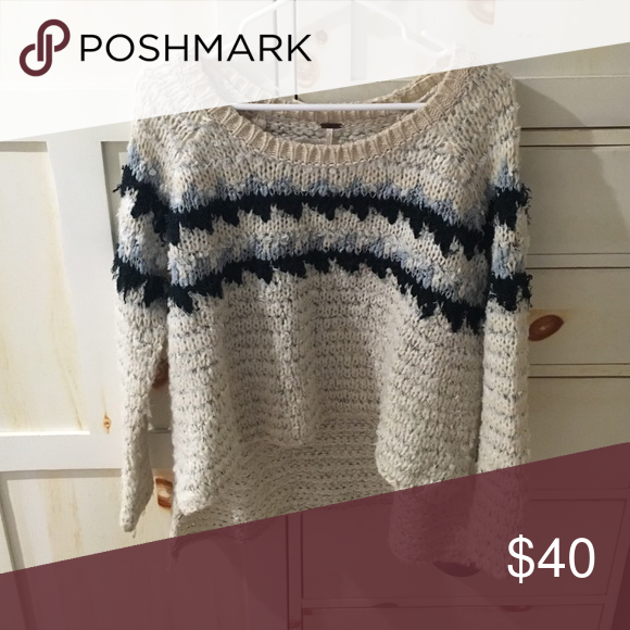 Free people sweater Knitted sweater Free People Sweaters Crew & Scoop Necks