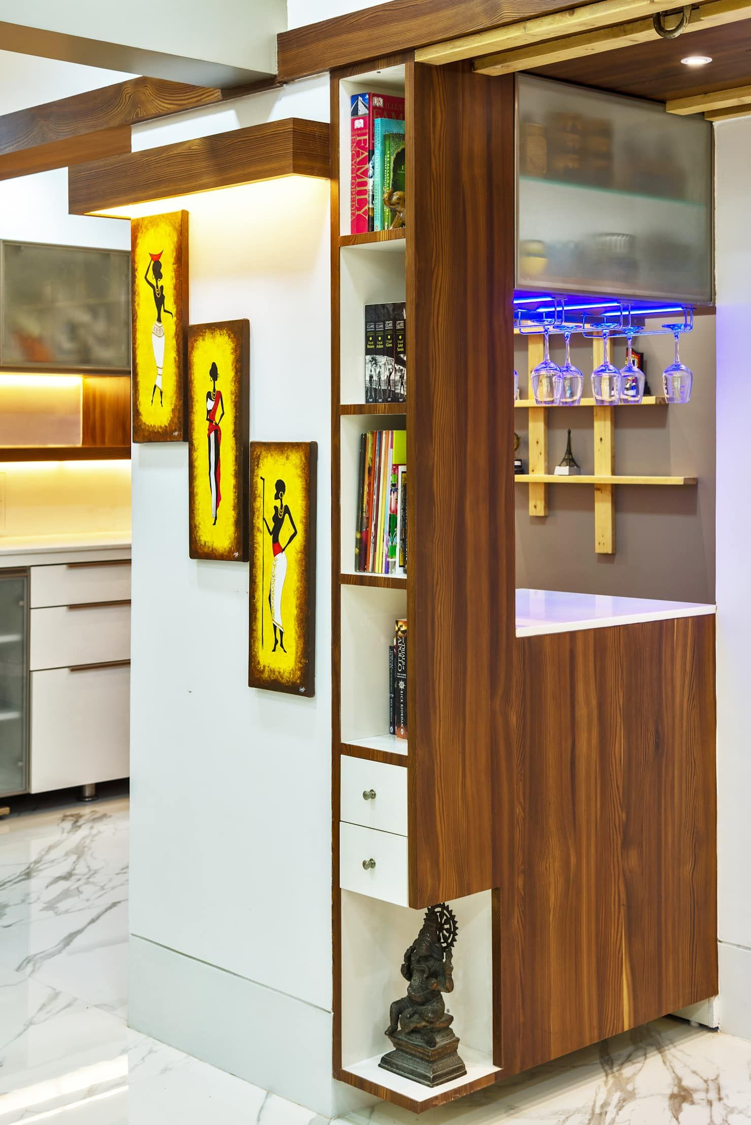 Library And Bar Unit Minimalist Living Room By The Inside Stories By Minal Minimalist Homify In 2020 Minimalist Living Room House Styling Interior Living Room Design Modern #small #living #room #bar