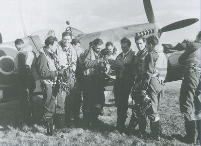 Free french pilot 6 juin 1944