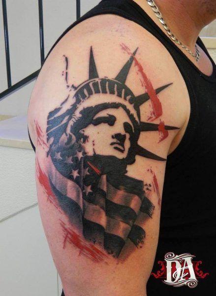 15++ Tatouage statue de la liberte inspirations
