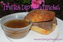 Easy French Dip Sandwich Recipe for Your Crock Pot