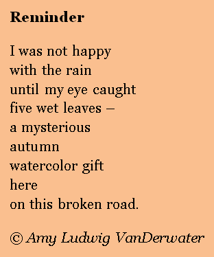 This is an example of a free verse poem. Free verse is a literary ...