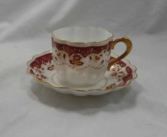 Fine Bone China Cup and Saucer  NIKKO  by NewHopeInsideOutside