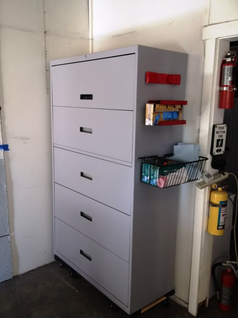 Lateral File Cabinet Revamp The Garage Journal Board