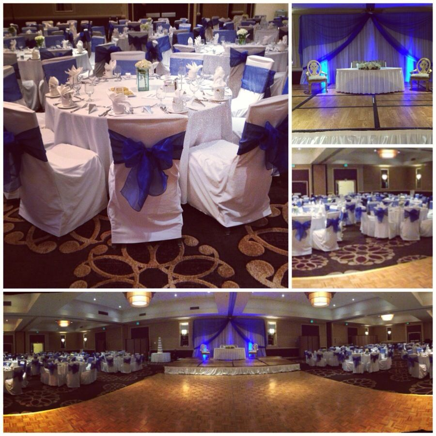 Quinceanera hall decorations blue for Quinceanera decoration