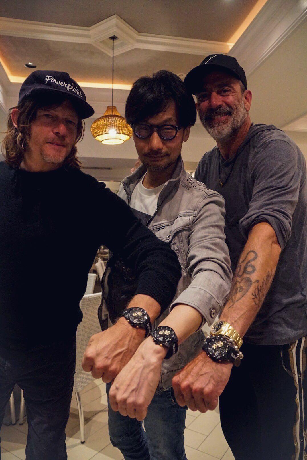 Hideo Kojima On Twitter Hideo Norman Reedus Actors Instagram.com/bigbaldhead снапчат нормана забыли пароль? norman reedus